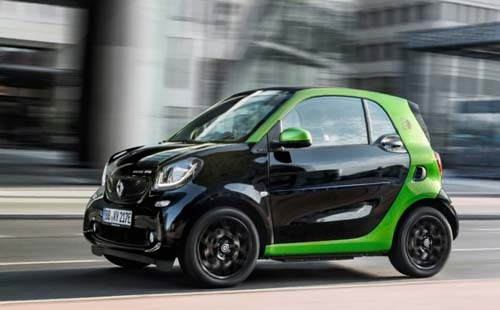 Die neuen smart electric drive Modelle